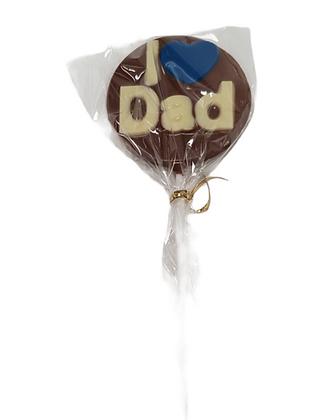 I Love Dad Lollipop