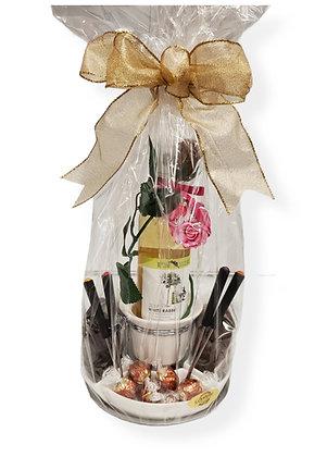 Wine and Chocolate Fondue Kit