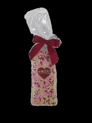 White Chocolate Valentine Bar