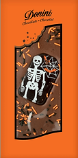 Donini Spooky Skeleton Chocolate Bar