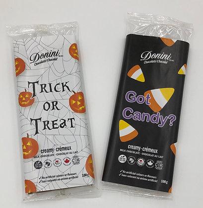 Halloween Novelty Bar - 2 Designs