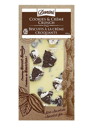 White Chocolate Cookies & Crème,100g