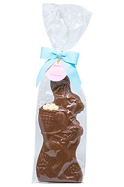 Donini Solid Milk Chocolate Skinny Bunny, 180g
