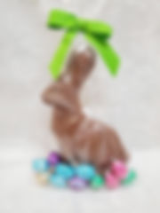 Easter Bunny with Foiled Eggs, 255g
