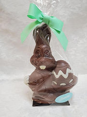 Hollow Easter Bunny with Egg, 270g
