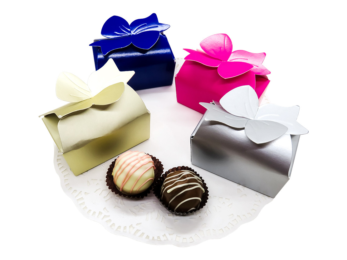 Bow Truffle Boxes