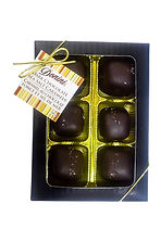Dark Chocolate Sea Salt Caramels, 100g