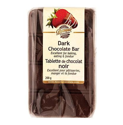 Jumbo Couverture Dark Chocolate Bar, 200g