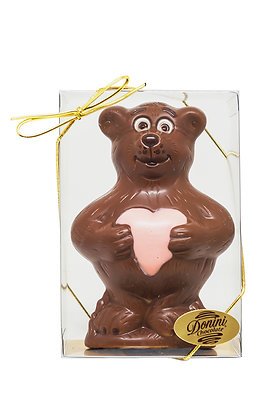 Milk Chocolate Bear with Heart, 85 g