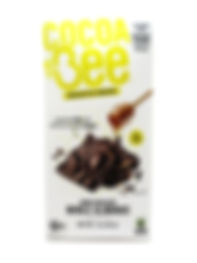 COCOABEE Dark Chocolate Bar with Whole Almonds