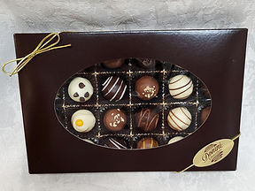 24pc Assorted Classic Handmade Truffles, 350g