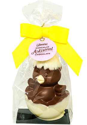 3-D Hollow Chocolate Chick in Egg, 110g