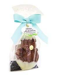 Donini 3D Hollow Milk Chocolate Chick in Egg, 110g