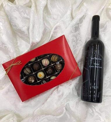 Truffles and Vidal Late Harvest Wine