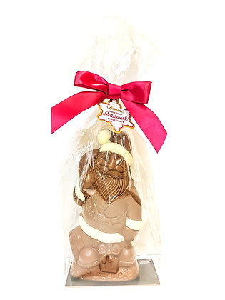 Milk Chocolate 3D Artisan Hollow Santa, 100g