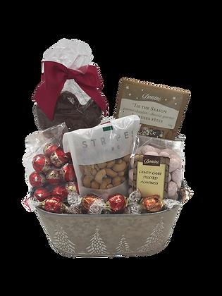 Medium Tree  Holiday Basket