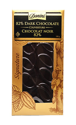 82% Dark Couverture Chocolate, 100g
