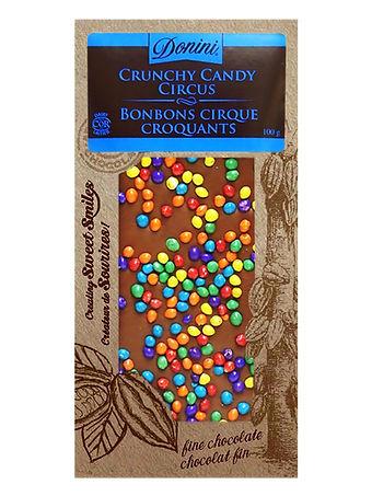 Donini Milk Chocolate Crunchy Candy Circ