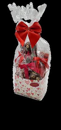 Medium Milk Chocolate Valentine Basket