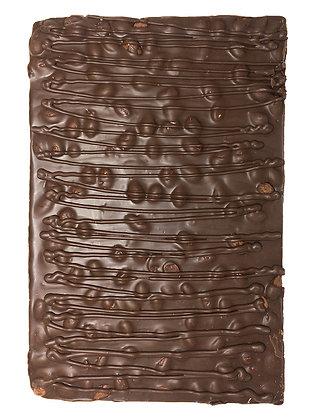54% Dark Chocolate Almond Bark Slab, 6 x 480g