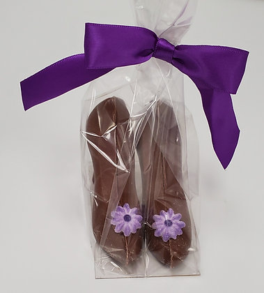 Milk Chocolate Shoes