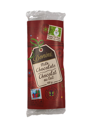 Milk Chocolate Holiday Novelty Bar - 100G