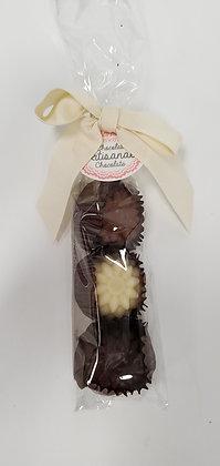 Chocolate Flower Assortment - 3pc