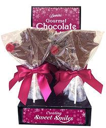 Donini Milk Chocolate Rudolph Lollipop