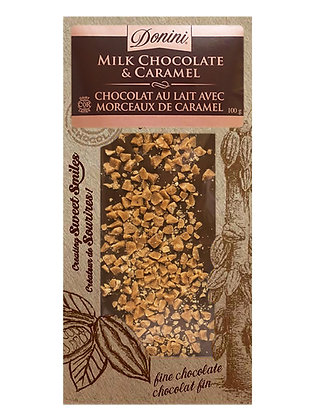 Milk Chocolate and Caramel, 100g