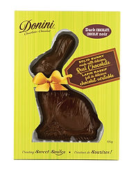 Donini Boxed Dark Chocolate Easter Bunny, 175g