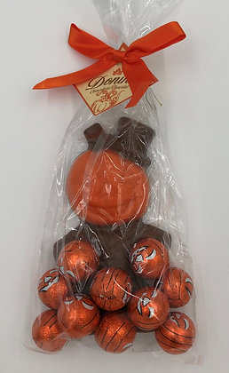 Milk Pumpkin Man with Pumpkin Balls