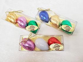 Easter Cream Filled Half Eggs in Acetate Box, 105g