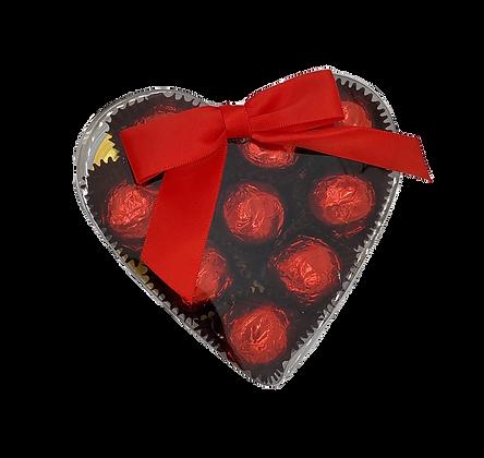 Cordial Cherries in Heart Box - 10 piece