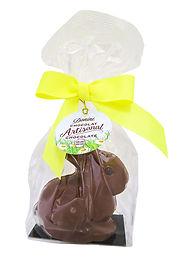 Donini Hollow Milk Chocolate Sitting Bunny, 75g