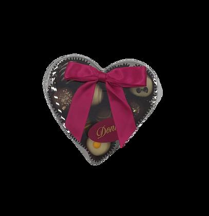 Assorted Classic Truffle Heart Box - 9 piece