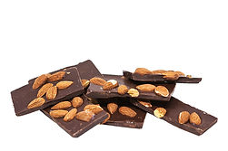 Donini Dark Chocolate Almond Barks, 200g