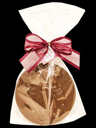Santa Medallion Cranberry Nut Bark, 200g