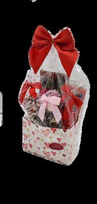 Medium  Dark Chocolate Valentine Basket