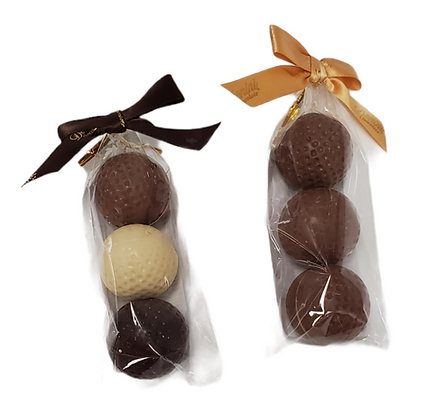 Chocolate Golf Balls - 90G - 3pc/pkg