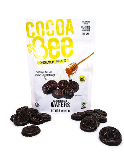 Cocoabee Dark Chocolate Wafers