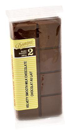 Velvety Smooth Milk Chocolate Bars, 200g