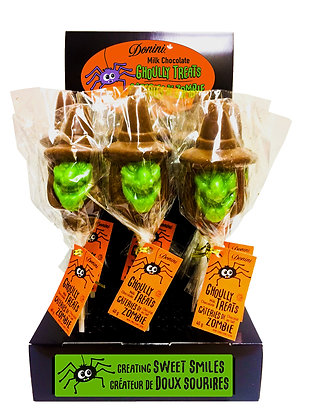 Milk Chocolate Witch Lolly, 40g
