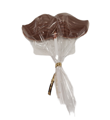 Milk Chocolate Moustache Lollipop
