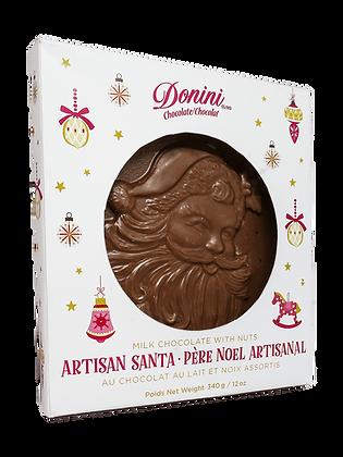 Milk Chocolate with Nuts Artisan Santa