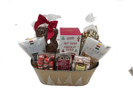Large Tree  Holiday Basket