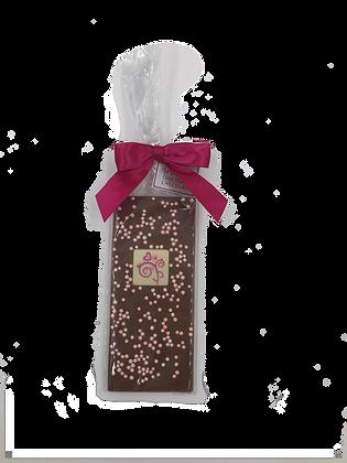 Milk Chocolate Valentine Bar with Pearls