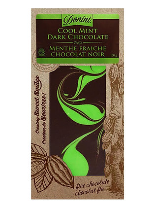 Cool Mint Dark Chocolate, 100g