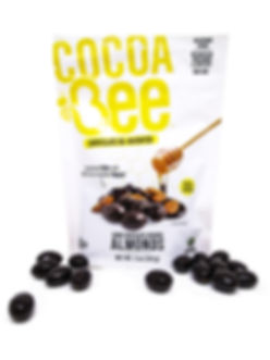Cocoabee Dark Chocolate Covered Almonds