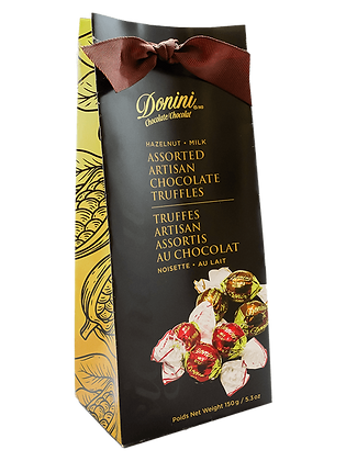 Milk Hazelnut Assorted Artisan Chocolate Truffles
