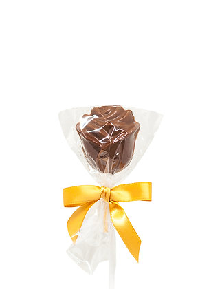 Chocolate Rose Lollipop
